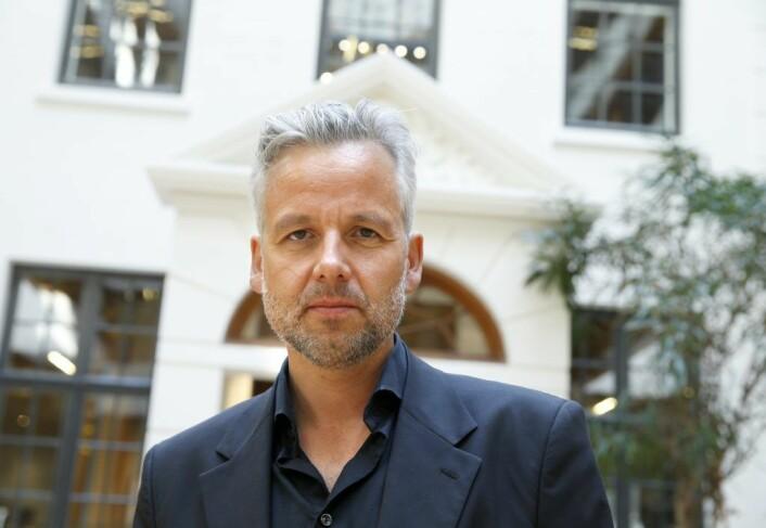 """Ari Behn i 2015, da han kom med 10 noveller med tittelen """"Døden er en avsporing. Fortellinger"""". Foto: Terje Pedersen / NTB scanpix"""