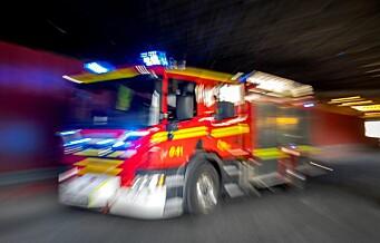 Kvinne omkom i brann på Skøyen