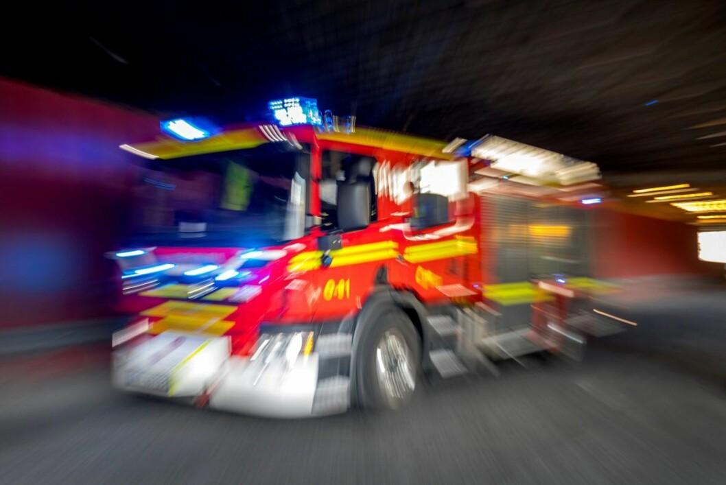 En person er hardt skadet etter en leilighetsbrann på Skøyen lørdag formiddag. Illustrasjonsfoto: Gorm Kallestad / NTB scanpix