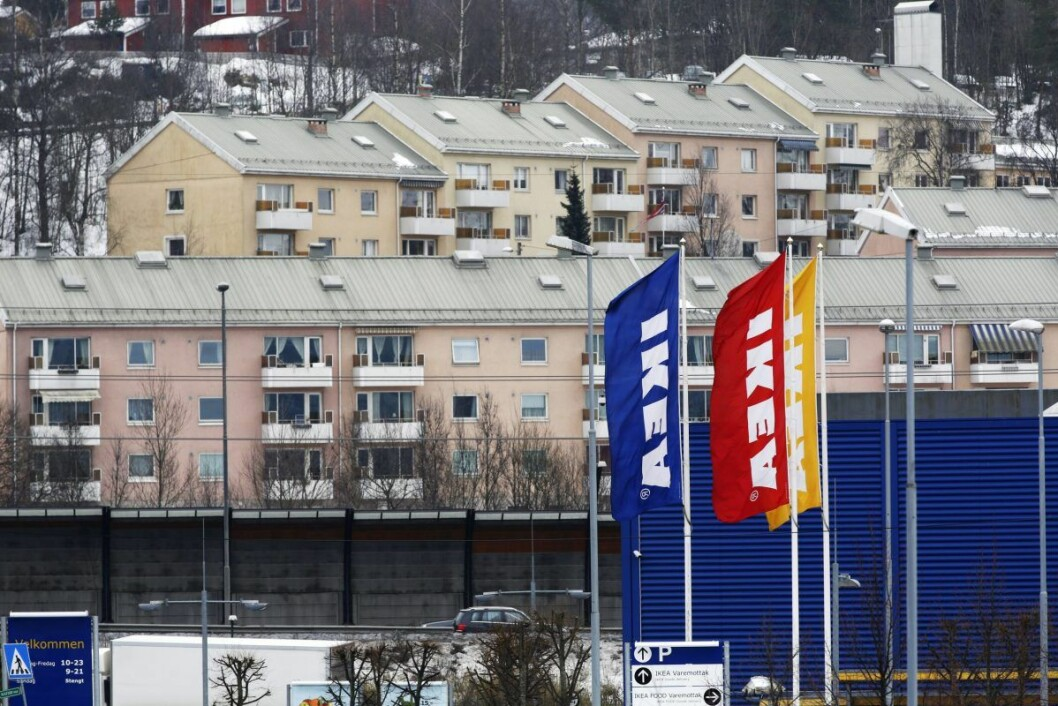 En sju år gammel gutt meldt savnet fra IKEA Furuset har blitt funnet på Spikkestad. Foto: Cornelius Poppe / NTB scanpix
