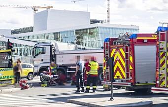 Bare en person drept i Oslo-trafikken i 2019