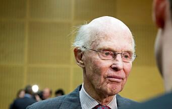 Fred. Olsen (91) siktet etter å ha kjørt på treåring på Vinderen