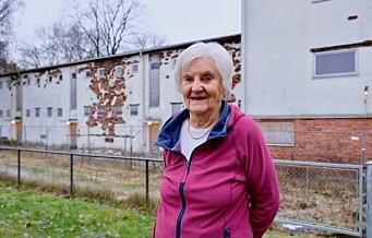 Thulstrups gate 4 skal rives til fordel for nybygg – Kjempefint! Få det bort, sier Unni Grethe Hestvedt