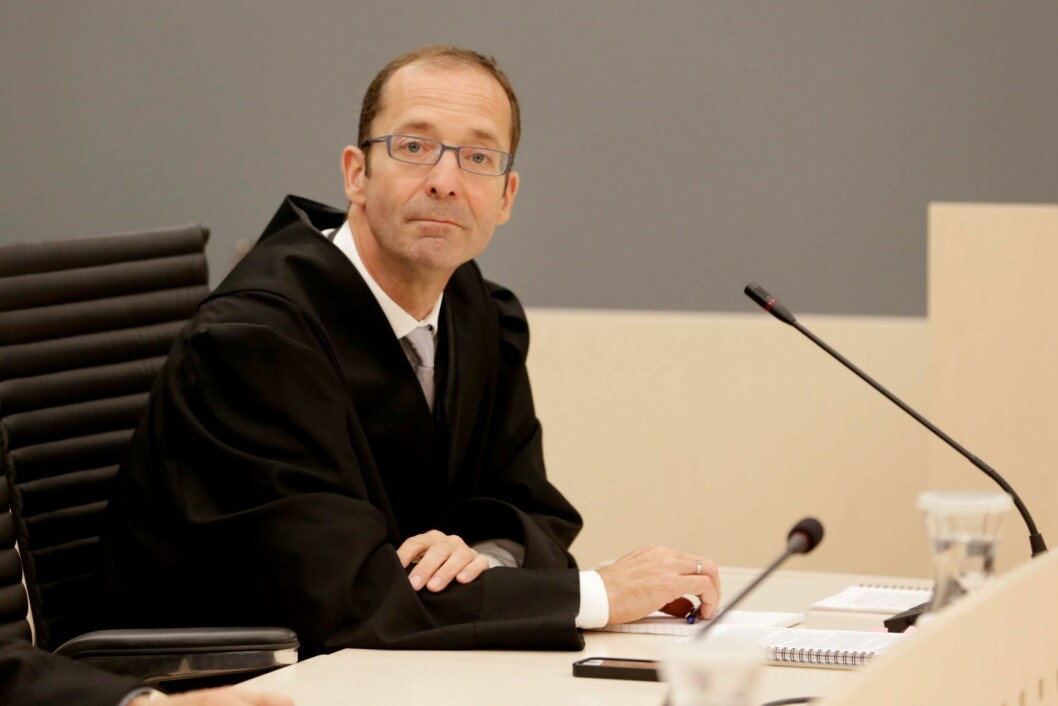 Statsadvokat Carl Graff Hartmann konkluderte med at Oslo politidistrikt ikke er inhabile i saken mot advokaten. Foto: Håkon Mosvold Larsen / NTB scanpix