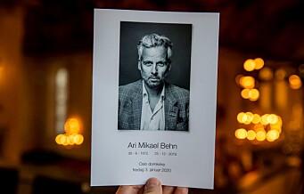 Fabian Stang: Behns bortgang har vekket oss