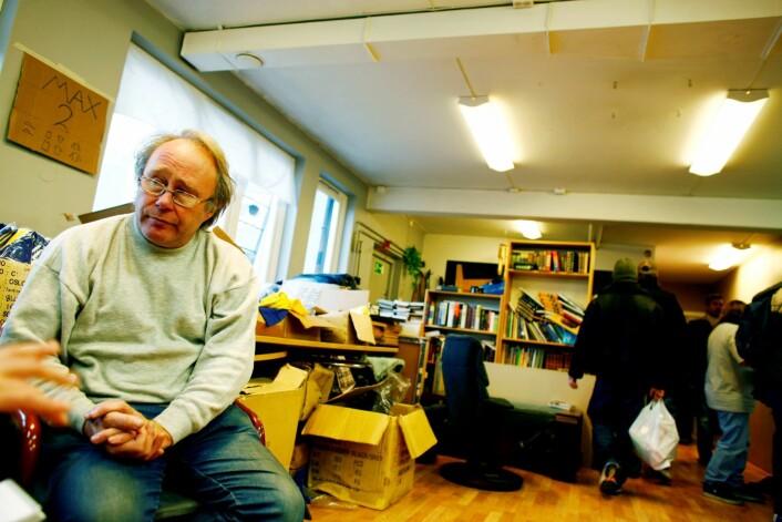 Ben Borgen var tidligere leder på Fattighuset. Han er fremdeles medlem, men mener Fattighuset ikke lenger står opp for de fattige. Foto: Sara Johannessen / SCANPIX