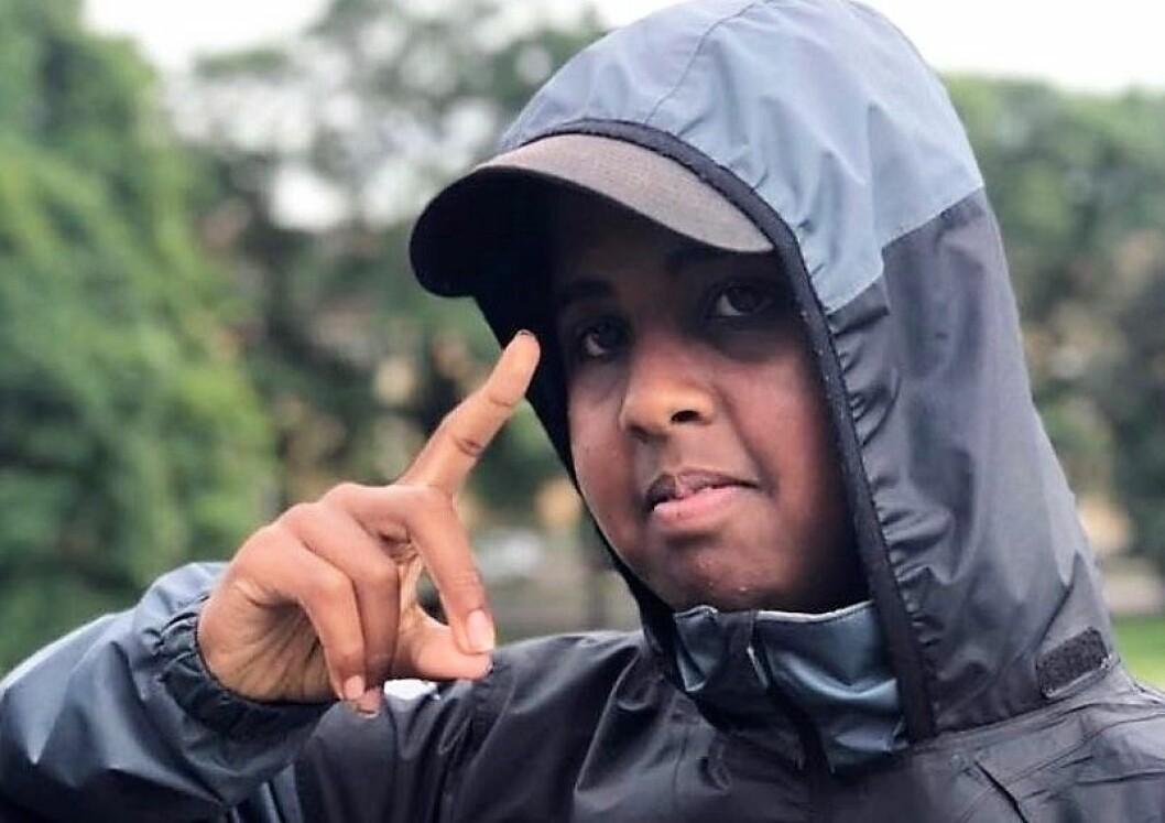 Warsame Isse har gjort seg bemerket i det frivillige livet i bydel Sagene. Foto: Privat