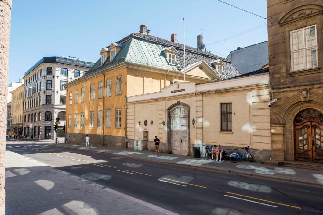 Oslo Høyre ønsker at Kvadraturen bygges ut og blir et boligområde. Foto: Tor Erik Schrøder / NTB scanpix