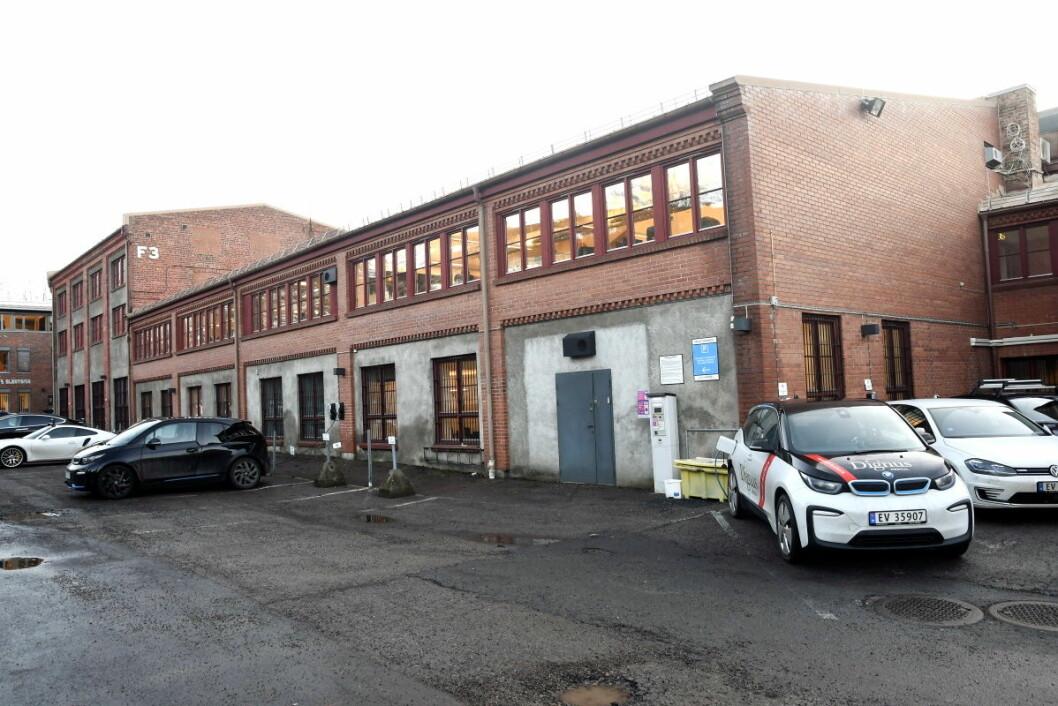I disse lokalene i SAandakerveien 24 D ønsker den tysk-norske skolen å samle sine aktiviteter i framtiden. Foto: Christian Boger
