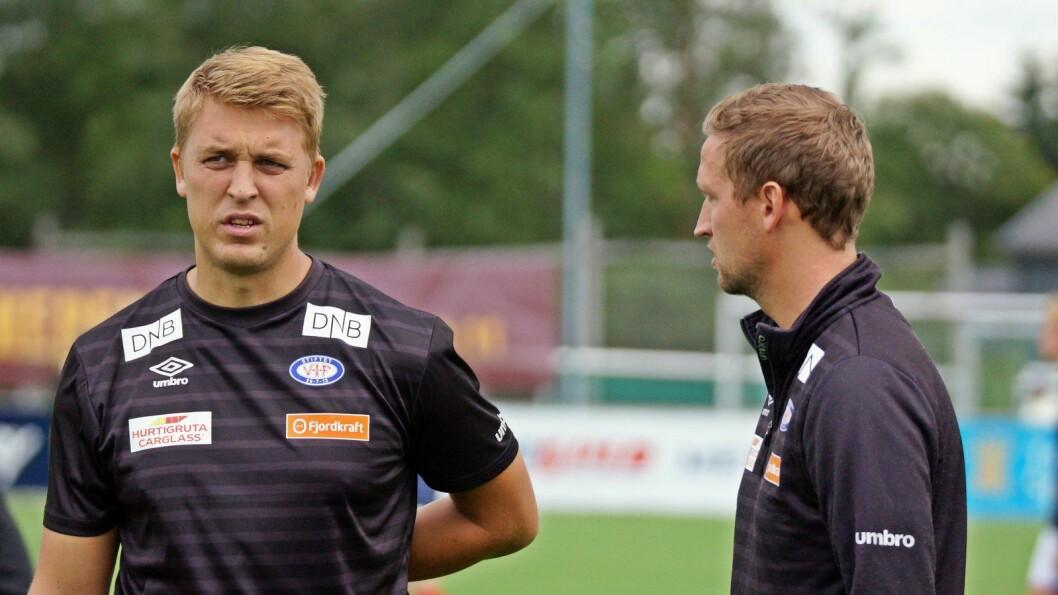 Gard Holme blir nye trener. Han kommer fra Vålerengas andrelag og har vært spillerutvikler. Foto: Vålerenga fotball