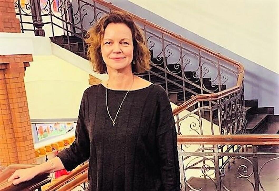 Janne Thon Rehn er 45 år og kommer fra stillingen som undervisningsinspektør ved Bryn skole. Tidligere har hun også jobbet ved Gamlebyen skole. Foto: Privat