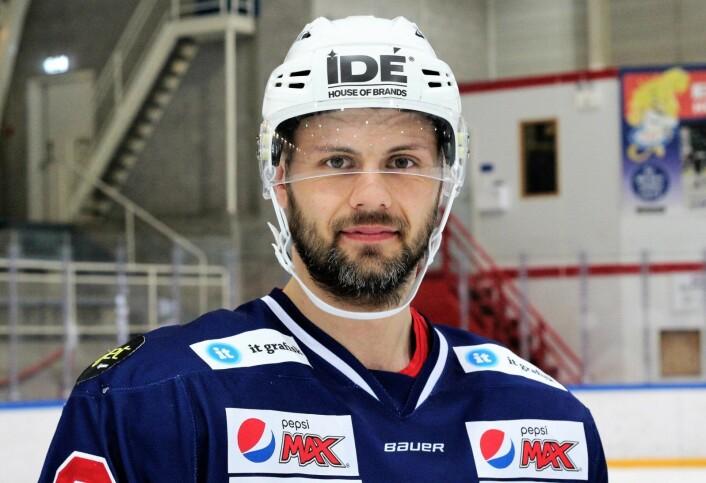 Daniel Sørvik er topp motivert for å komme tilbake neste sesong. Men hjernrystelsen sitter i fremdeles. Foto: André Kjernsli.