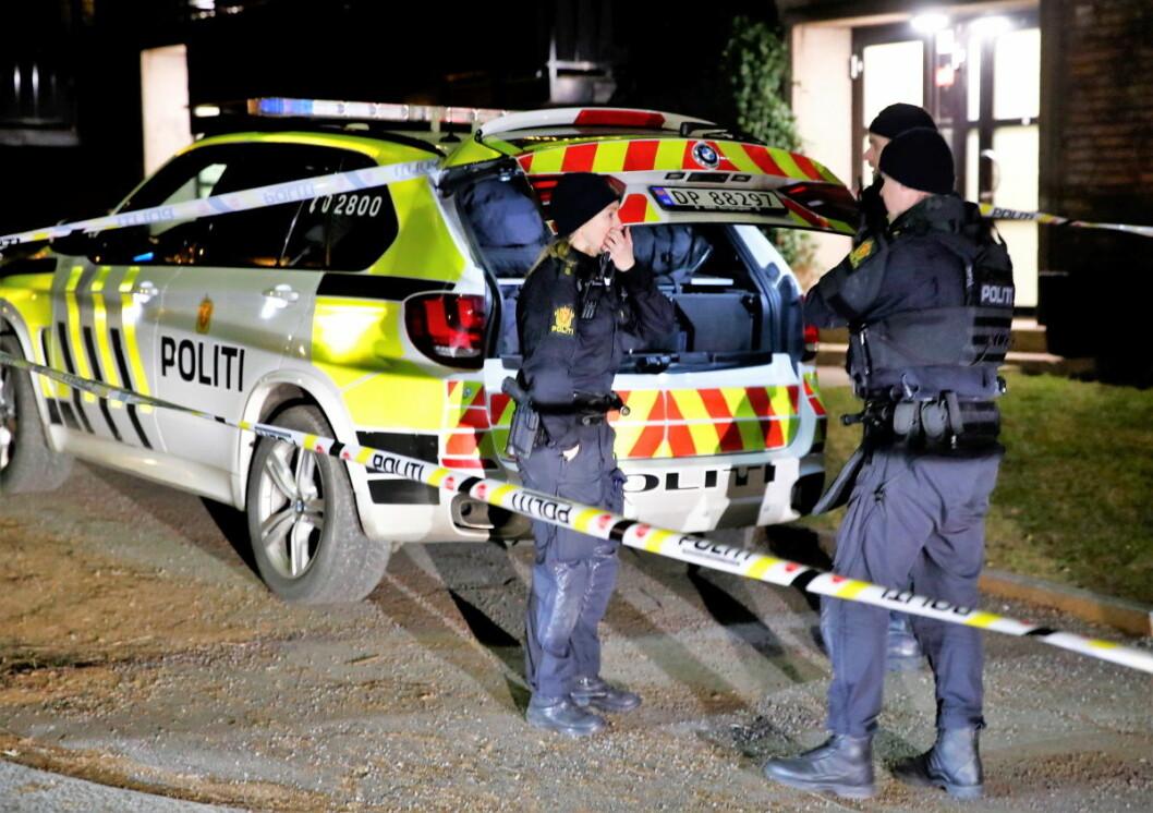 En ung mann er pågrepet og siktet etter en skyteepisode på Bjølsen sent fredag kveld. Foto: Terje Pedersen / NTB scanpix