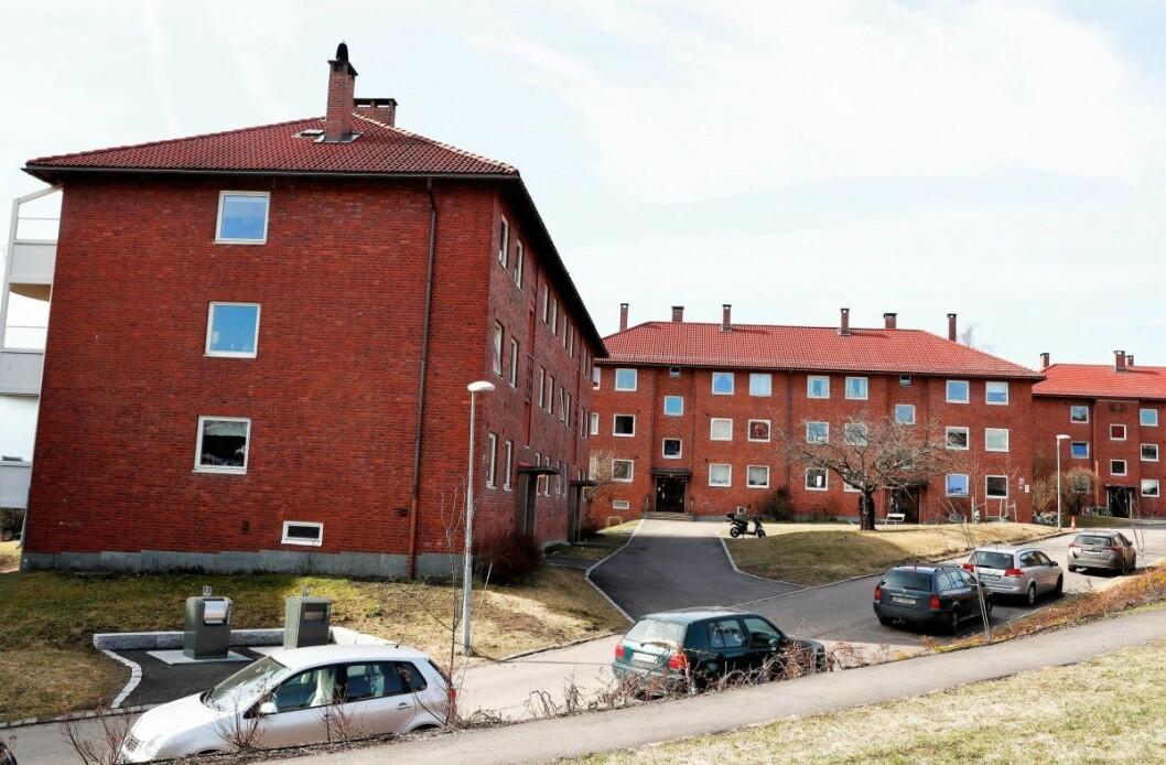 Beboerne i Etterstadsletta Sør Borettslag er blant dem som må koke drikkevannet inntil videre. Foto: Terje Pedersen / NTB scanpix