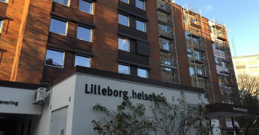 Mannen forsvant fra Lilleborg helsehus på Rosenhoff. Foto: AF gruppen