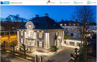 Skal det være en råflott villa til 70 millioner på Frogner?