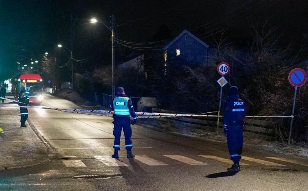 � Påkjørselen skjedde i et fotgjengerfelt, sier operasjonsleder Sven Christian Lie ved Oslo politidistrikt. Foto: Fredrik Hagen / NTB scanpix