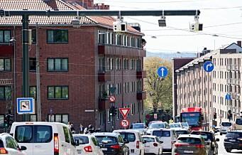 Inntektene i Oslos bomring økte med 153 millioner i fjor. Nytt bomsystem ga solid inntektsøkning