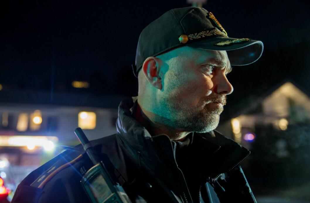 Innsatsleder Svein Arild Jørundland rykket ut til Prinsdal etter drapet. Foto: Terje Pedersen / NTB scanpix