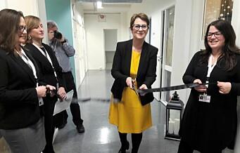 Arbeidsinkluderingsbedriften Unikum åpnet butikken Håndlag i Thorvald Meyers gate