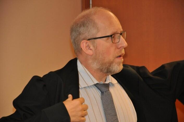 — Vi fra politiet ser at arbeidstakere som ikke har lov til å arbeide i Norge er et stort problem, sa aktor Hans Petter Pedersen Skurdal under rettssaken. Foto: Arnsten Linstad