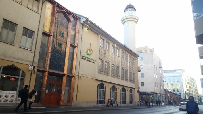 Islamic Cultural Centre ligger i Tøyenbekken, sentralt plassert på Grønland. Foto: Tarjei Kidd Olsen