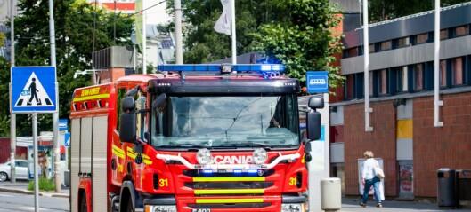 Brannvesenet i Oslo hadde 9.400 unødvendige utrykninger i fjor