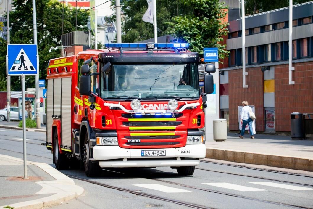 Kun sju prosent av de automatiske brannalarmene er reelle, viser tall fra Oslo brann- og redningsetat. Foto: Audun Braastad / NTB scanpix