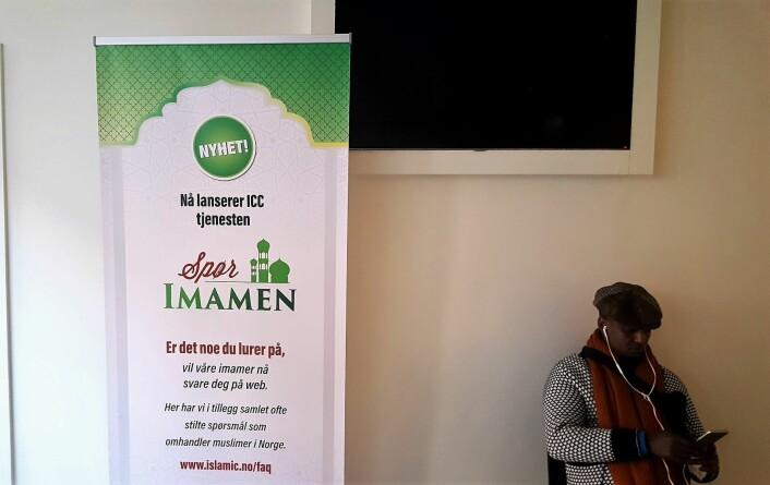 Spør imamen, så får du svar. Foto: Tarjei Kidd Olsen