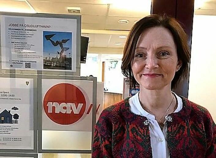 Lise Andersen er leder ved NAV Grünerløkka. Hun synes det er leit at Eva Sørensen føler seg sveket av NAV. Foto: Privat