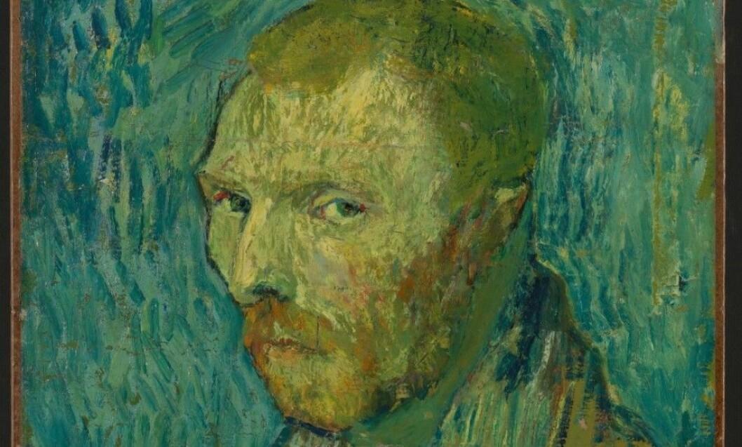 I over 50 år har det hersket usikkerhet om Nasjonalmuseets selvportrett av Vincent van Gogh er ekte. Nå mener forskere ved Van Gogh-museet i Nederland å ha bevist bildets autentisitet en gang for alle. Foto: Nasjonalmuseet