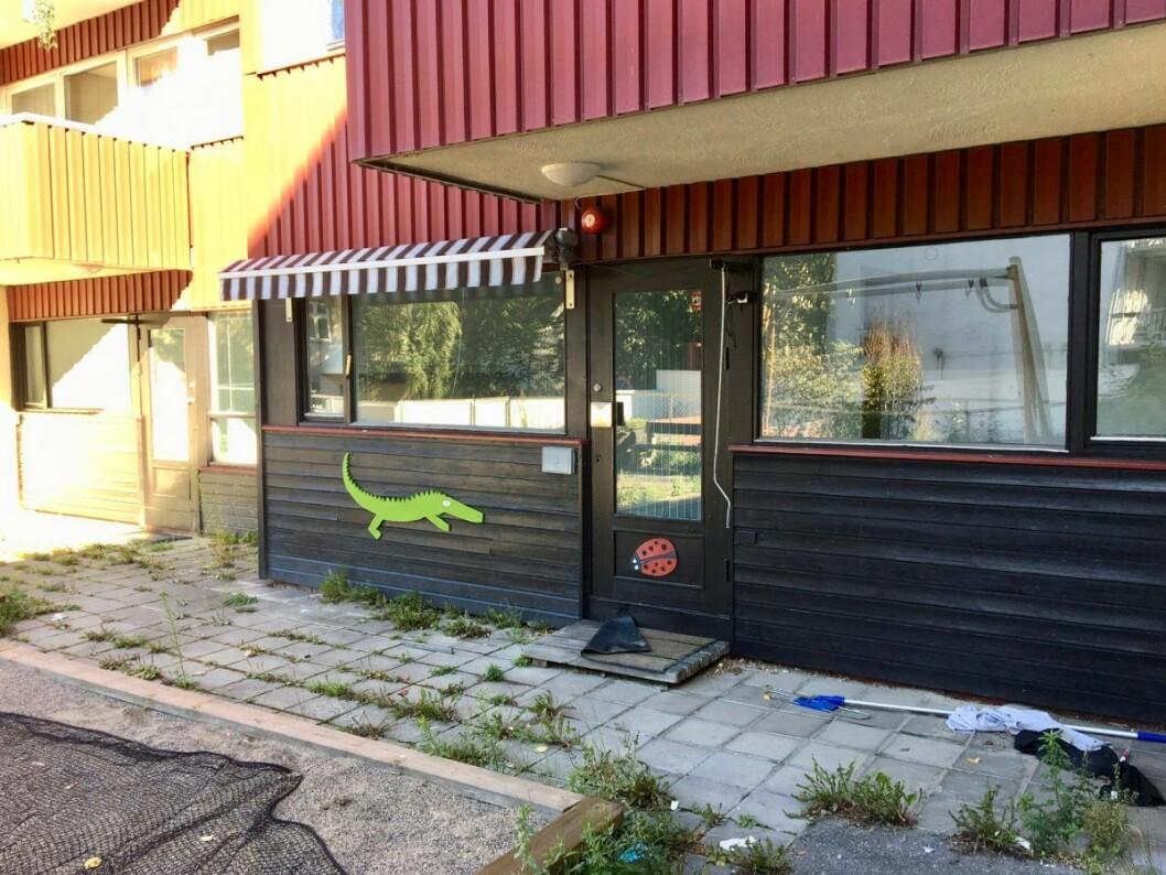 Etter at den forrige barnehagen forsvant, har lokalet stått tomt. Foto: Vegard Velle