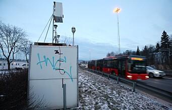Stor luftforurensning i Oslo