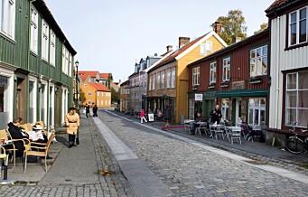 – Røde sykkelfelt vil forstygge Gyldenløves gate. Bruk i stedet steinheller og brostein