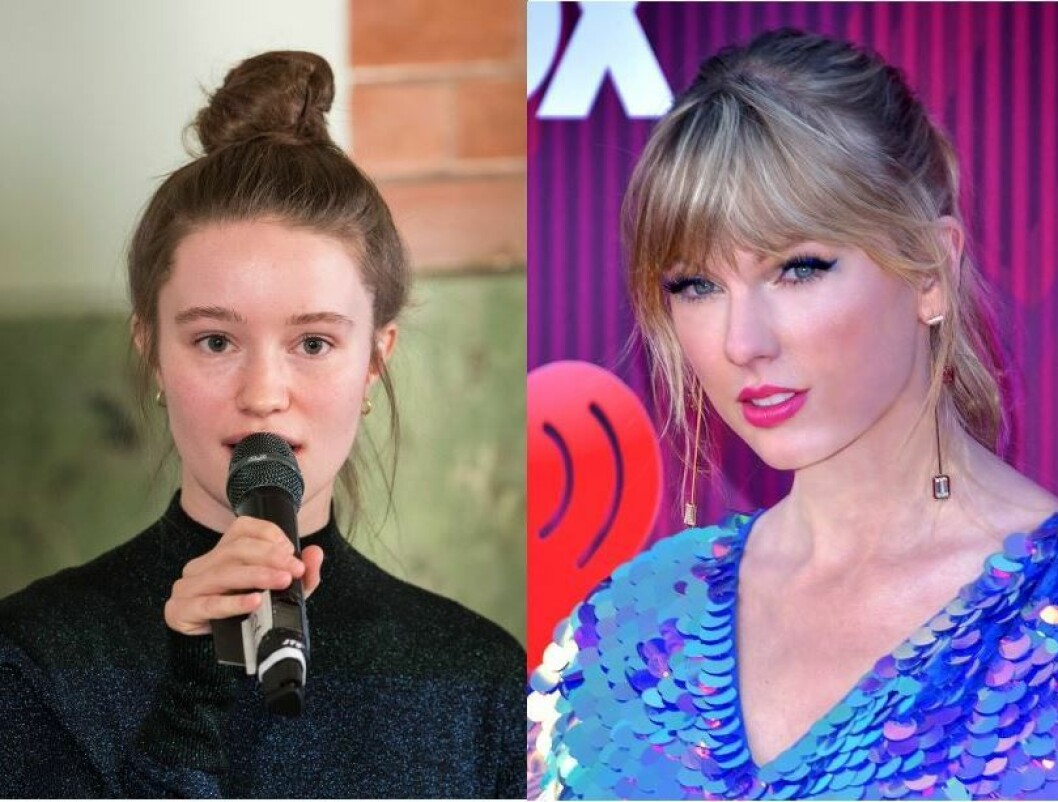 Taylor Swift og Sigrid deler scene på Voldsløkka i slutten av juni. Foto: Swift - Glenn Francis / Wikipedia. Sigrid / Håkon Mosvold Larsen / NTB scanpix