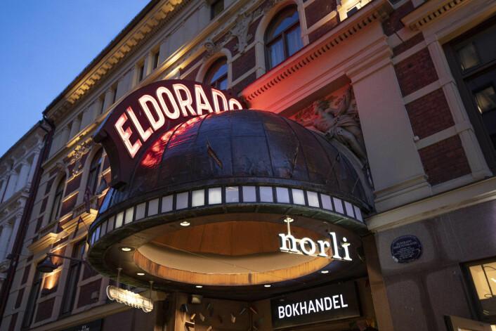I noen år etter 2012 lå landets største bokhandel her. Nå har bokkjeden Norli tatt over. Foto: Olav Helland