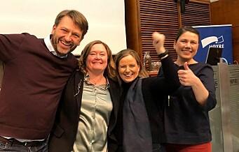 Heidi Nordby Lunde gjenvalgt som leder av Oslo Høyre