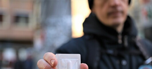 Heroinavhengiges livredder får plass i bukselomma