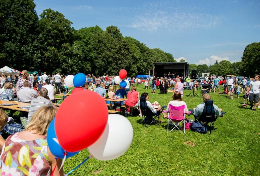 USAs nasjonaldag 4. juli feires i Frognerparken. Med amcar-treff. Foto: Vegard Wivestad Grøtt / NTB scanpix