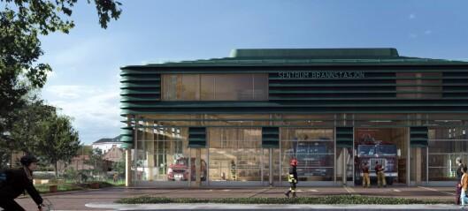 100 arkitekter vil tegne Sentrum brannstasjon i Bjørvika. Se 20 av tegningene