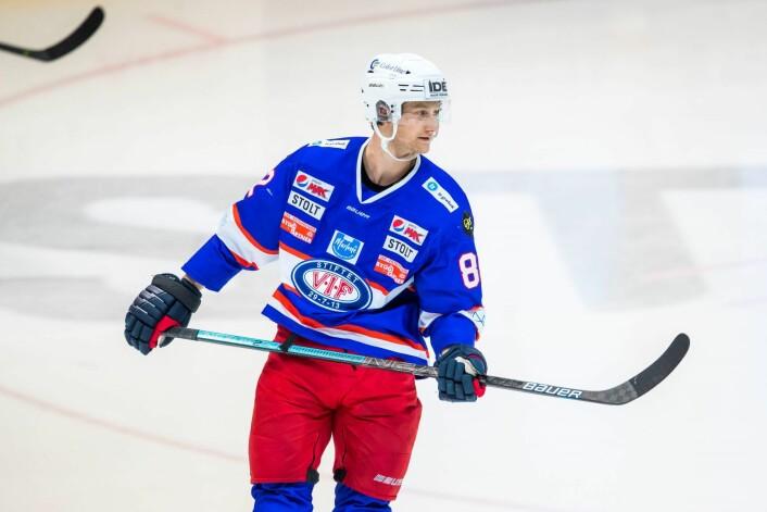 Jørgen Karterud var Vålerengas eneste som scora mot Storhamar. Foto: Håkon Mosvold Larsen / NTB scanpix