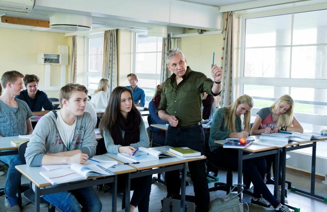 Aldri før har flere elever kommet seg gjennom skoleåret i videregående skole i Oslo. Foto: Berit Roald / NTB scanpix