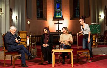 Abrahams tre døtre møttes på Grønland for å lytte og lære av hverandre
