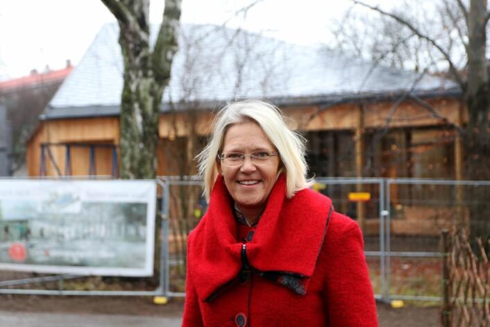 – Vi trenger hjelp fra publikum. Har du tatt et godt bilde av vær og vind i Oslo de siste 30 årene? spør Brita Slettemark, leder av Klimahuset. Foto: Klimahuset