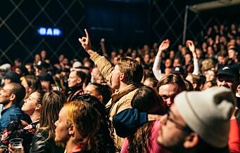by:Larm-festivalen klarte å komme i mål med 50/50 kjønnsbalanse