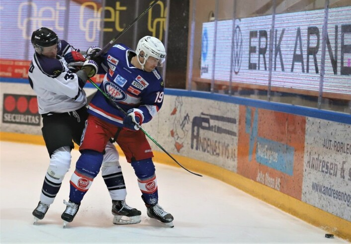 Jonas Oppøyen scoret kampens siste mål. Foto: André Kjernsli