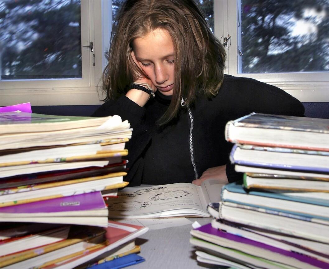 - For å klare hele skoleløpet og deretter arbeidslivet, må vi motivere elevene sier skribenten. Foto: Scanpix