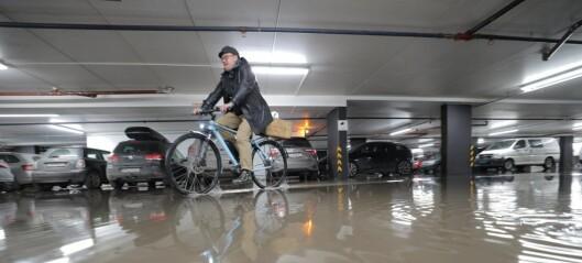 P-hus og butikker i Kiellands hus oversvømt etter vannlekkasjen på Voldsløkka