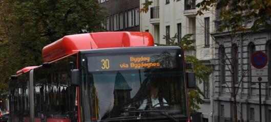 Nye tall fra Ruter: Alle busser i Bygdøy allé forsinket etter at sykkelvei erstattet kollektivfelt