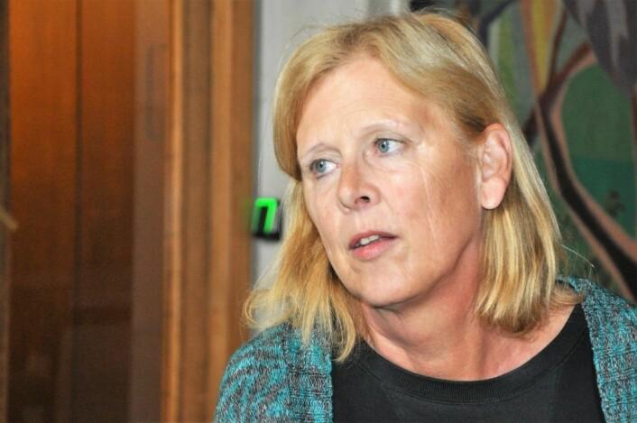 — Symbolpolitikk uten mål og mening, sier Frps gruppelder i bystyret, Camilla Wilhelmsen. Foto: Arnsten Linstad